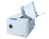 """Integrated feeder holds up to 500 #10 envelopes at a time, and can handle materials up to 1/4"""" thick"""