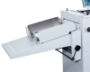 Height-adjustable outfeed stacker