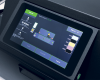 Full-color touchscreen offers complete control over the print process