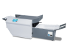"Available with 18"" output conveyor to keep processed forms neat and sequential, ready for the mail"