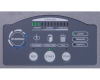 User-friendly LED control panel with load indicator helps to avoid jams. Large emergency stop button and ON-OFF key lock add another level of security.